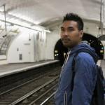 En attendant le métro...