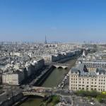 La vue depuis Notre Dame