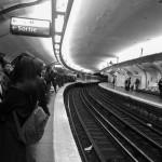 Le métro bondé !