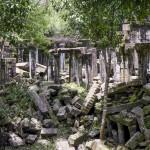 Des ruines à l'état pur