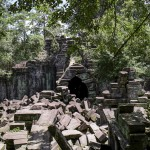 Au centre du temple...