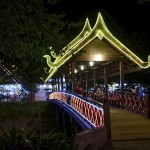 Le pont du night market
