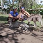 Là on est vraiment en Australie