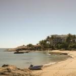 Notre plage de l'après-midi