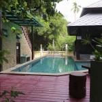 Notre piscine pour 3 jours...